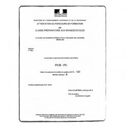 Diplôme Doctorat FR