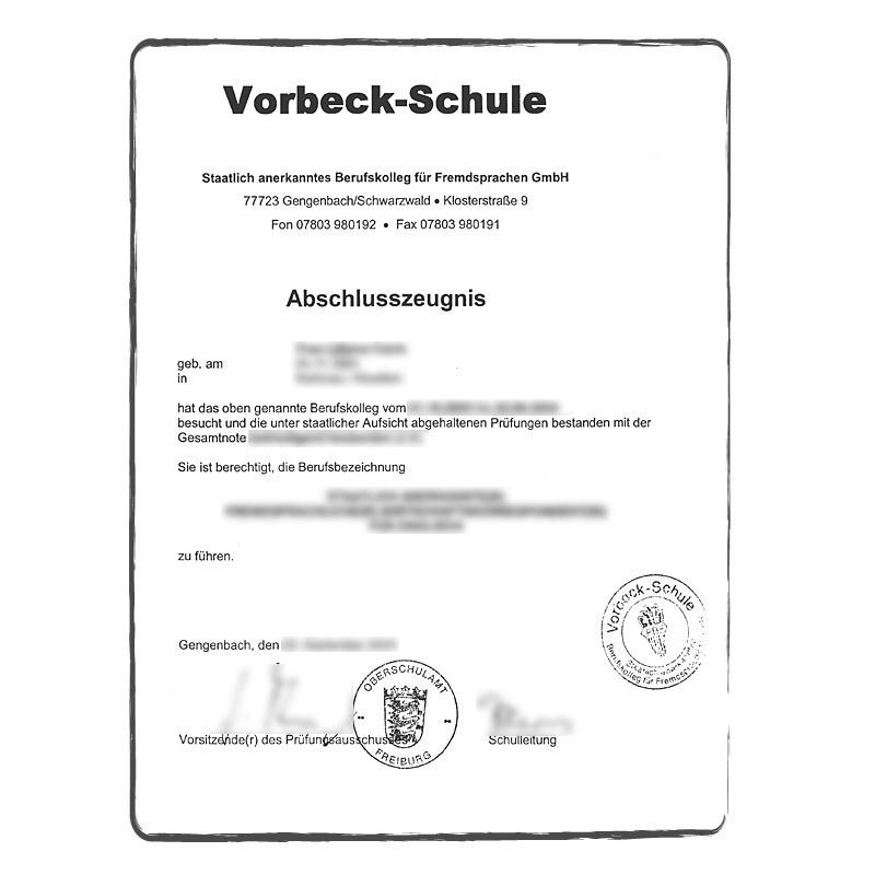 traduction asserment u00e9e diplome anglais fran u00e7ais allemand