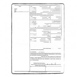 Marriage certificate NE-FR