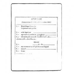 Criminal report Belgian