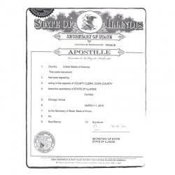 Residence permit US-FR