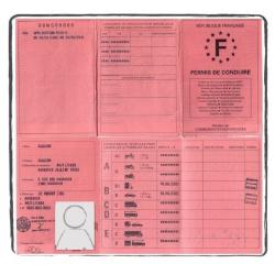 permis de conduire français FR ancien