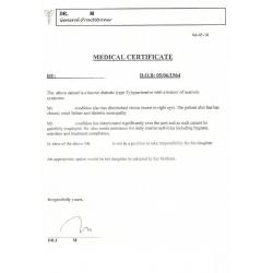 Certificat médical EN