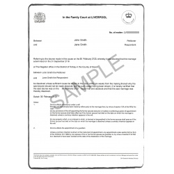 Divorce certificate D37 EN(UK)