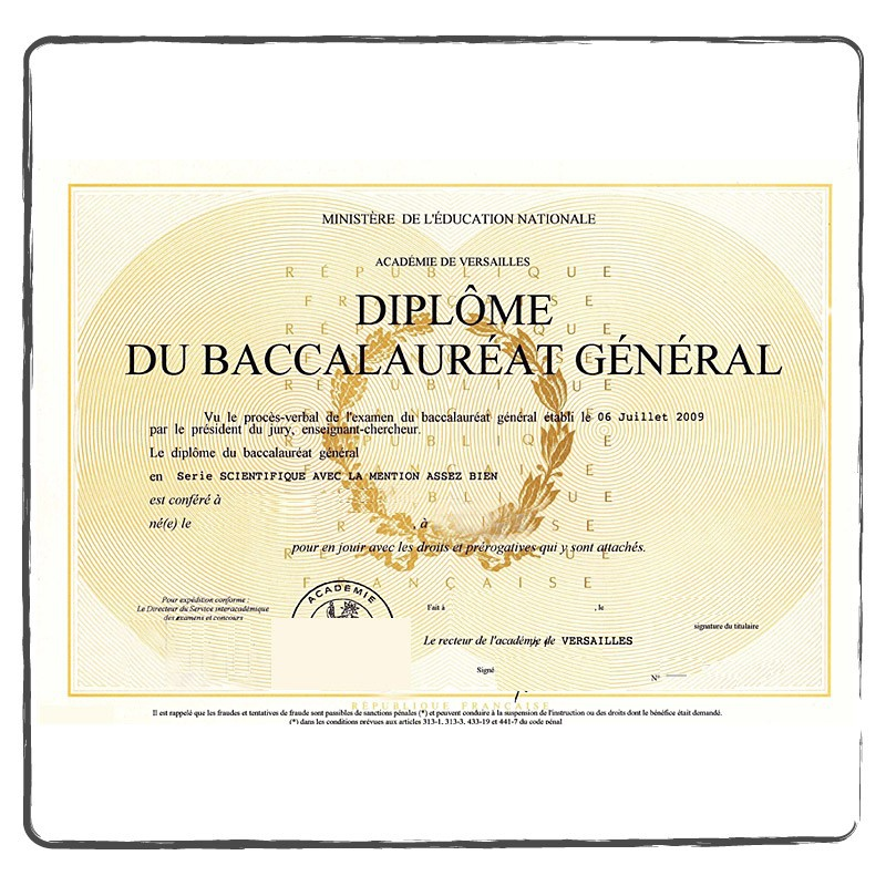 traduction certifi u00e9e diplome baccalaur u00e9at