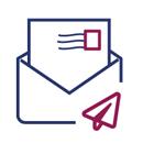 logo envoi par courrier ACSTraduction
